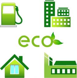 Factory clipart eco