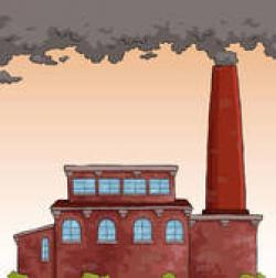 Factory clipart factory chimney