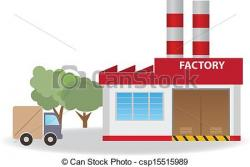 Factory clipart factory warehouse