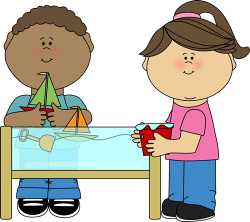 Floating clipart water play