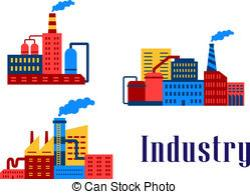 Industrial clipart factory