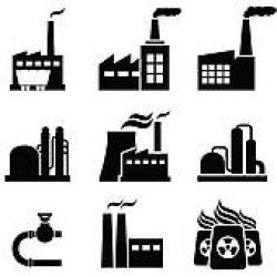 Factory clipart industrial area