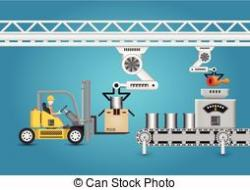 Industrial clipart food processing