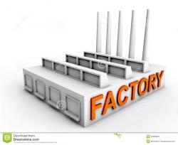 Factory clipart manufacturing plant