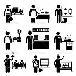 Factory clipart pictogram