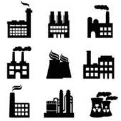 Industrial clipart power generation