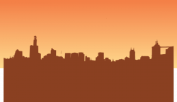 Factory clipart skyline