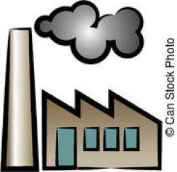 Factory clipart smokestack