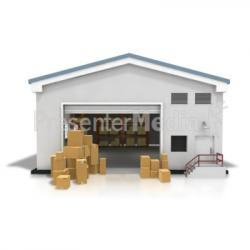 Factory clipart storage warehouse