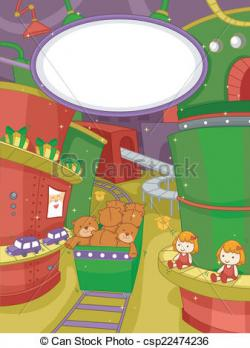 Factory clipart toy factory