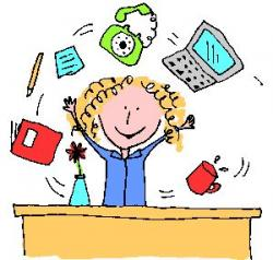 Office clipart administrative assistant