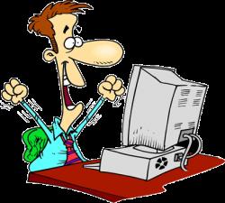 Coding clipart pc user