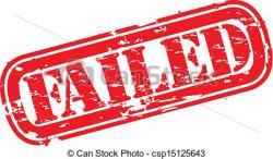 Fail clipart icon