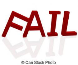 Fail clipart word