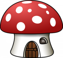 Mushroom clipart gnome
