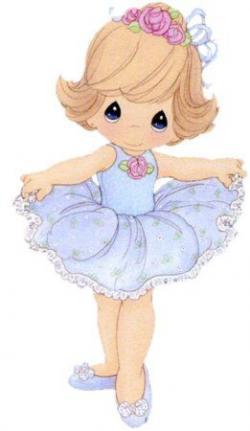Ballerina clipart precious moment