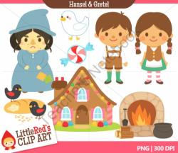 Fairy Tale clipart hansel and gretel