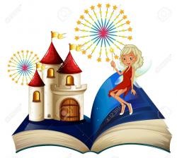 Magical clipart storybook
