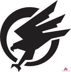 Logo clipart falcon