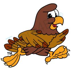 Prairie Falcon clipart animated