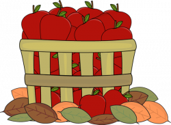 Haystack clipart fall apple