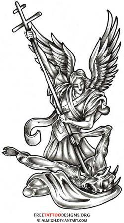 Fallen Angel clipart archangel