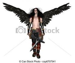 Fallen Angel clipart artwork