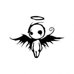 Fallen Angel clipart cartoon