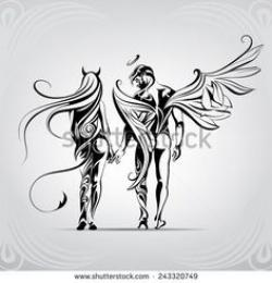 Fallen Angel clipart demon