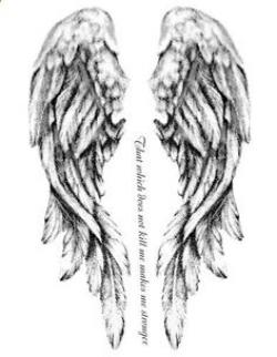 Fallen Angel clipart grey