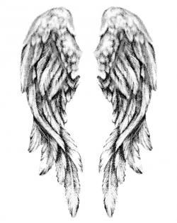 Fallen Angel clipart sketch