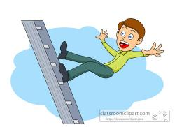 Climbing Tree clipart ladder safety
