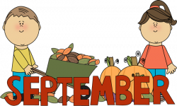 Foliage clipart september month