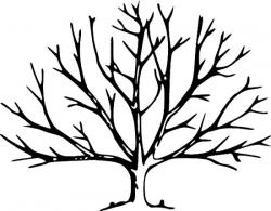 Dead Tree clipart leave template