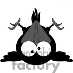 Crow clipart cute baby