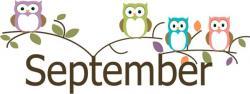 Owl clipart september