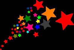 Falling Stars clipart