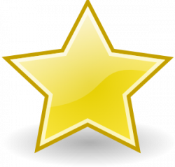 Shooting Star clipart star trophy