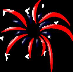 Sparklers clipart streamer