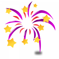 Sparklers clipart transparent background