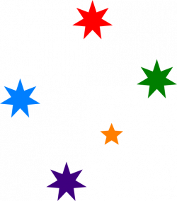 Falling Stars clipart magical star