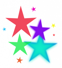 Shooting Star clipart all star