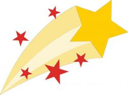 Shooting Star clipart rising star