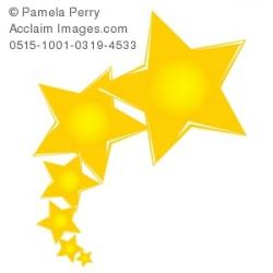 Shooting Star clipart shiny star