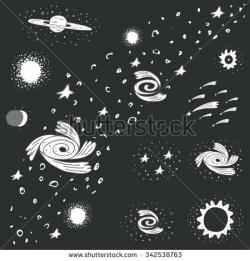 Black Hole clipart milky way galaxy