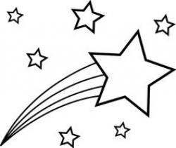 Shooting Star clipart pre k