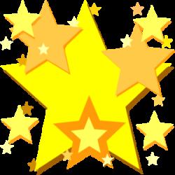 Falling Stars clipart star award