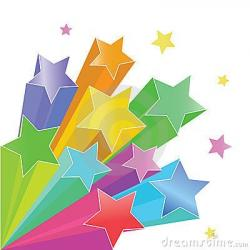 Falling Stars clipart star the week