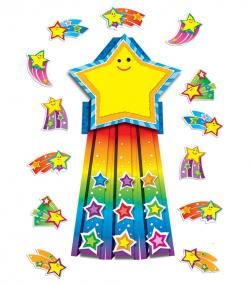 Falling Stars clipart top achiever