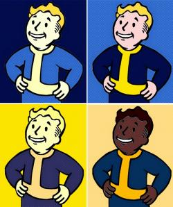 Fallout clipart pop art